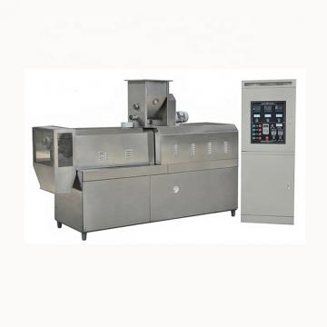 Twin screw sala crispy chips fried wheatflour snack processing line/making machine