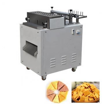 Triangle chip crispy fried rice snacks making machine