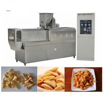Crispy Chip Fried Flour Food Extruder Making Machine