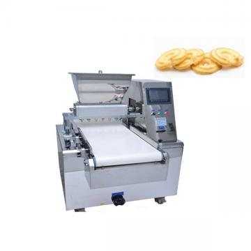 Double Color Filling Cookie Production Line Filled Striped Cookies Plc Turnkey Encrusting Filling Making Machine